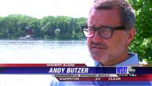 Andy Butzer in interview about Long Lake near Detroit Lakes