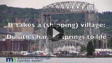 Video: It takes a (shipping) village - Duluth's harbor springs to life