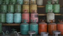 Canisters of refrigerant