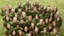 Minnesota GreenCorps members for the 2018-2019 service year