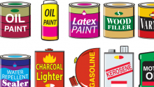 Household hazardous waste learning trunk for education