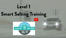 Video about the benefits of Smart Salting training for winter maintenance professionals