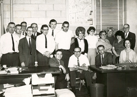 Original staff of the Minnesota Pollution Control Agency in 1967.