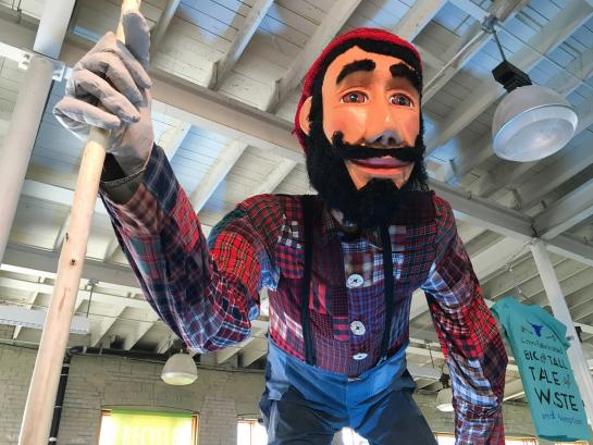 Paul Bunyan and a big and tall tale of waste  e13a4f0b535