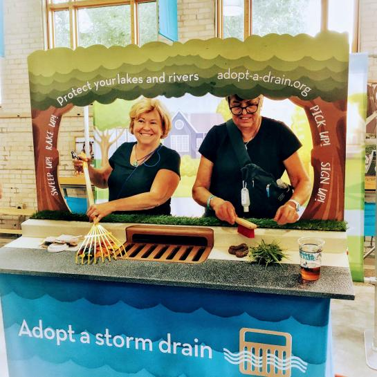 Eco Experience encourages people to take action and care for storm sewers in their neighborhood.