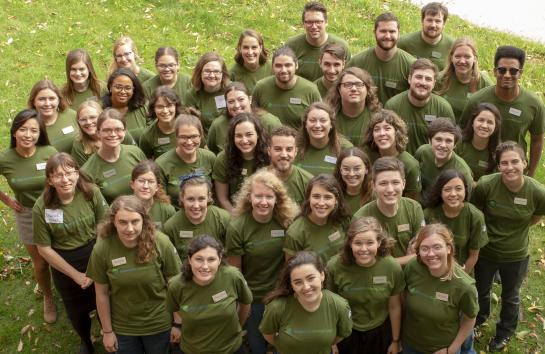 Minnesota GreenCorps members for the 2019-2020 service year