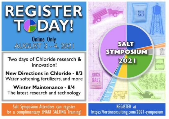 Register today for the 2021 Salt Symposium: Aug. 3 and 4