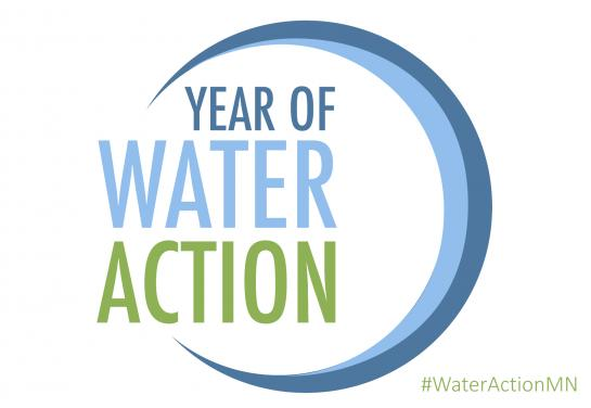 year of water action banner