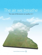 "Report cover for ""The air we breathe"""