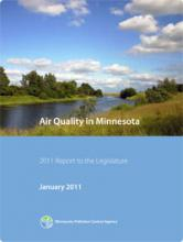 Cover - Air Quality in Minnesota: 2011 Report to the Legislature