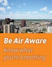 Be Air Aware MN logo - orange