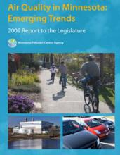 Cover: Air Quality in Minnesota: 2009 report to the Legislature