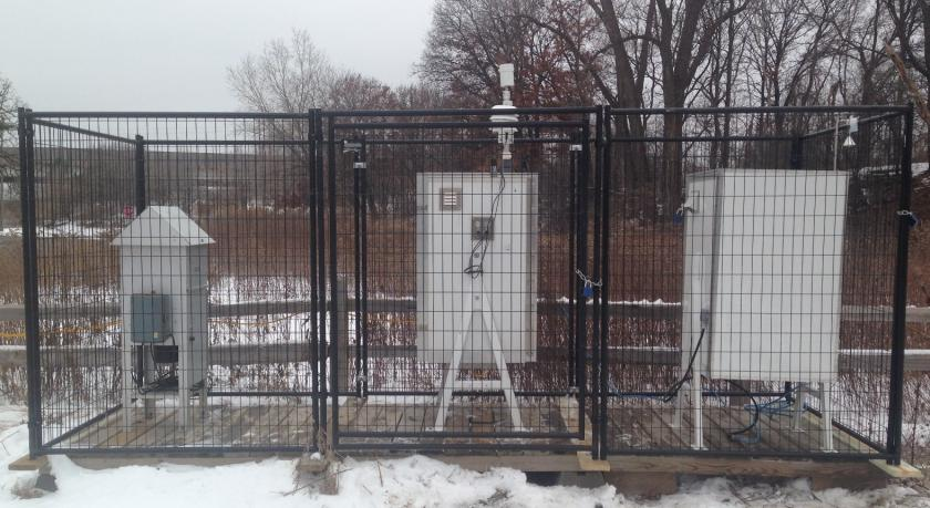 Picture of monitoring equipment at 1908 St Paul - South St Anthony Park