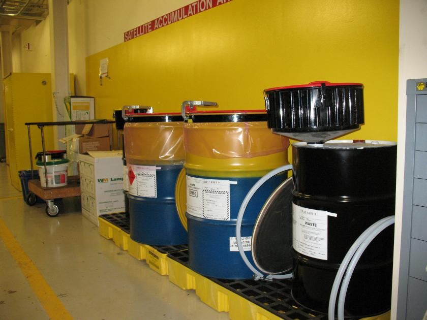 Industrial hazardous waste