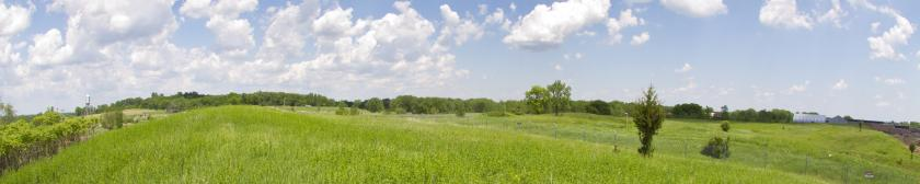 Arden Hills Superfund Site TCAAP now green hills and fields