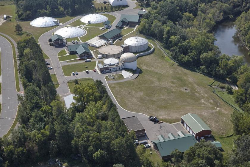 Cambridge wastewater treatment plant