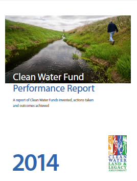 Clean Water Fund Performance report cover