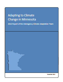 cover climate change adaptation report