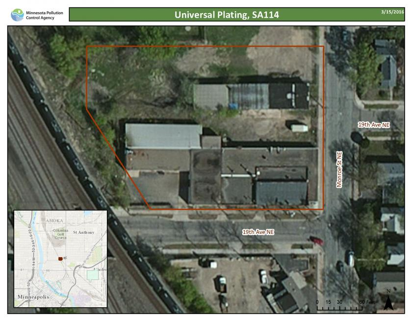 Universal Plating Facility site
