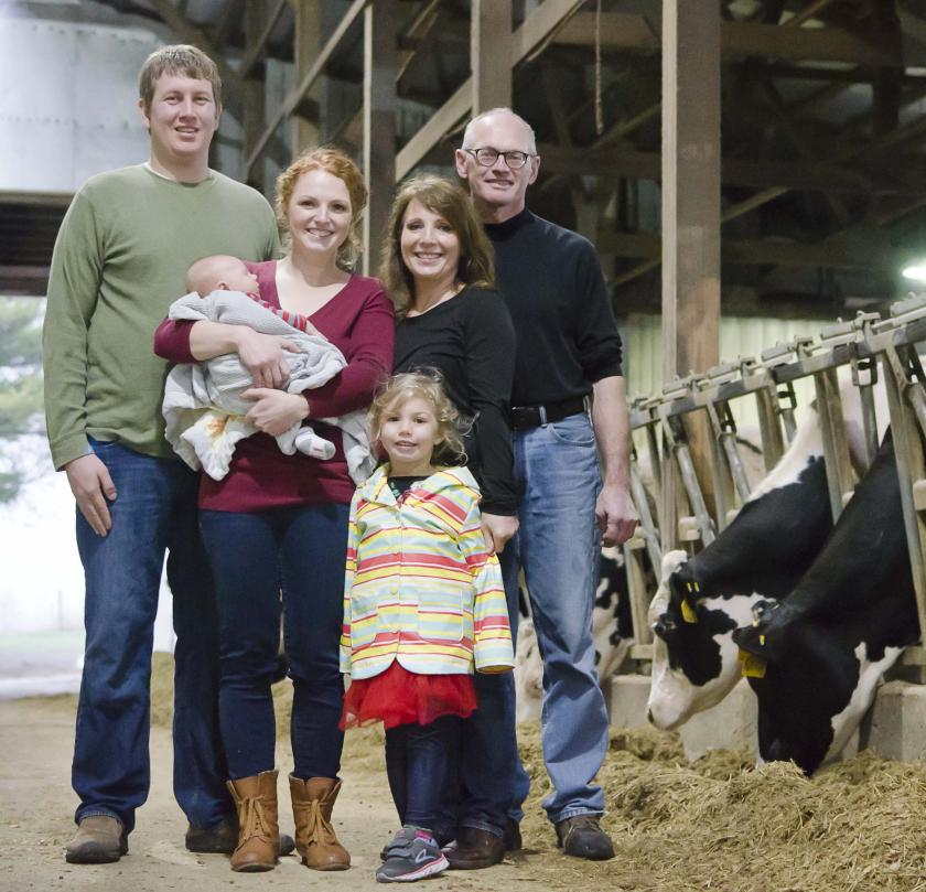 Family members of the Jer-Lindy Farms and Redhead Creamery