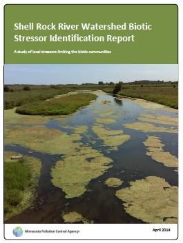 Shell Rock stressor ID report cover