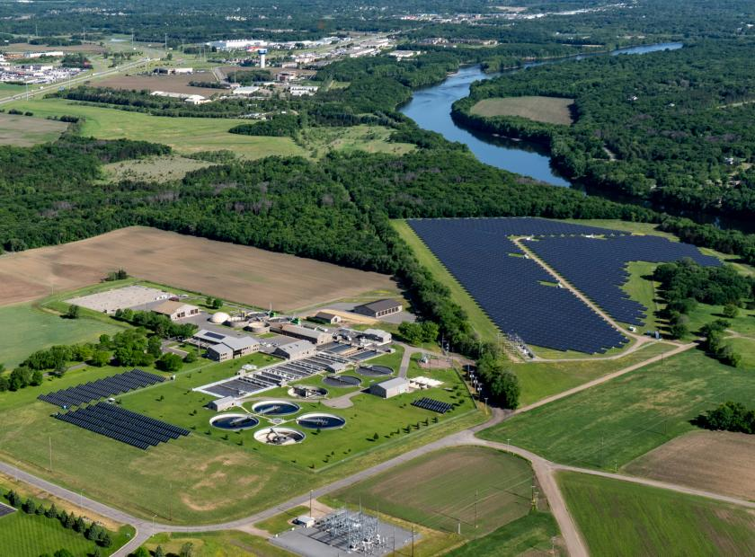 St. Cloud wastewater recovery center