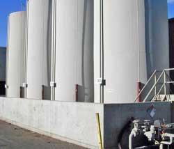 Aboveground storage tank facilities with less than one million ...