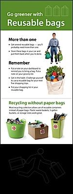 Go greener with Reusable bags