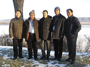 china delegation at lake pepin