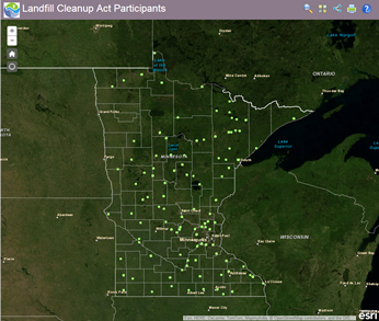 CLP ArcGIS Online application thumbnail
