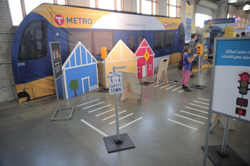 Safety Town teaches kids all about walking and biking safely.