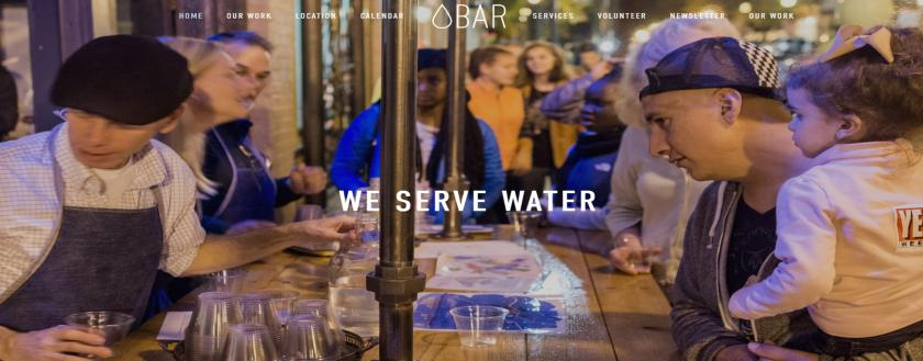 At the water bar, get a free flight of water samples from around Minnesota.