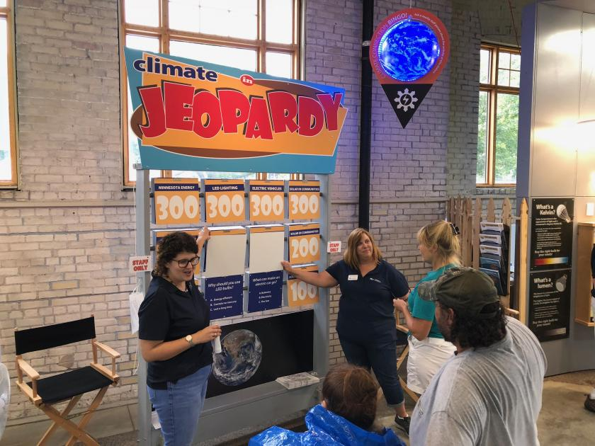 Play Climate in Jeopardy, a fun game about a serious topic