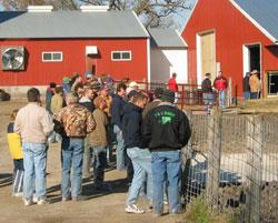 Feedlot training tour