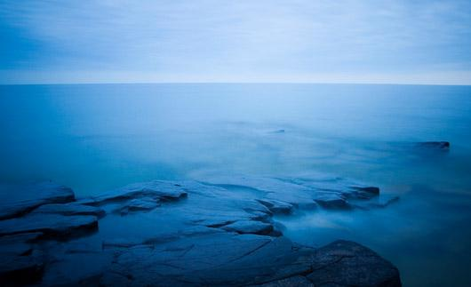 Shoreline of lake-superior