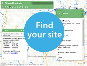 Find your site to monitor