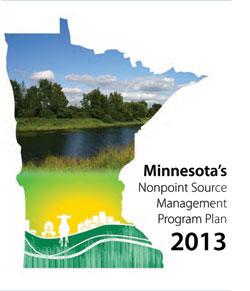Nonpoint Source Management Plan 2013 Report Cover