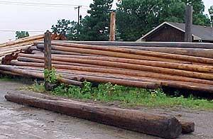 Used Utility Poles; Materials Exchange Brokers