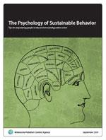 Psychology of Sustainable Behavior report cover
