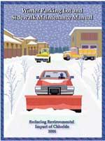 Winter Parking Lot and Sidewalk Maintenance Manual - Cover