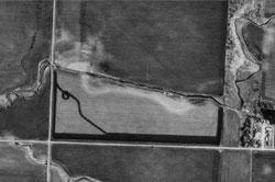 Aerial image of something from 1991