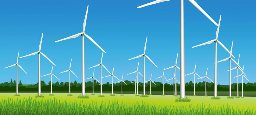 Windfarm illustration