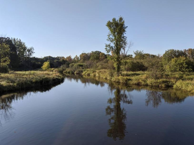 Pokegama Creek in the Snake River -  St.Croix Basin watershed