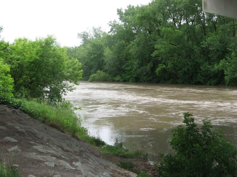 Cottonwood River near New Ulm