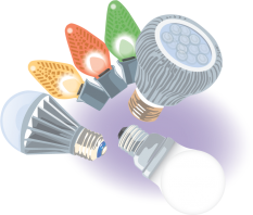 Illustration of LEDs