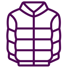 Icon of down jacket