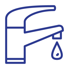 Icon of water faucet