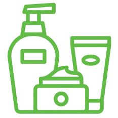 Icon of bottles of lotions