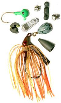 Nontoxic tackle made without lead