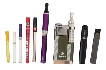 Examples of e-cigarettes